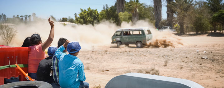 Weddle-equipped GoWesty Syncro Tackles Baja   Weddle